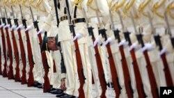 日本自衛隊(資料圖片)
