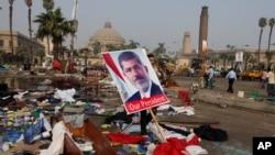 Площадь Нахда. Каир, Египет. 15 августа 2013 г.