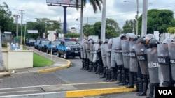 La Policía Nacional encabeza la lista de instituciones que violan los derechos humanos de los nicaragüenses.