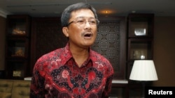 FILE - Rudi Rubiandini, head of Indonesian energy regulator SKKMigas, March 6, 2013.