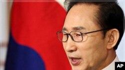 지난 2일 신년 연설에서 북한과의 관계 개선 의지를 밝힌 이명박 한국 대통령