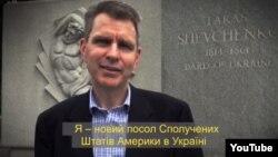 Джефф Пайєтт, посол США в Україні. Фрагмент відеозвернення до українців