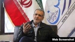 İran Parlamentinin birinci sədr müavini - Təbriz millət vəkili Məsud Pezeşkiyan