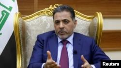 Umushikiranganji w'intwaro yo hagati wa Iraki, Mohammed Salem al-Ghabban.