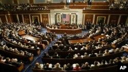 رئیس جمهور کرزی در جون ۲۰۰۴ به مجلسین کنگره امریکا سخنرانی کرد