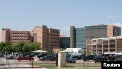 资料照:位于得克萨斯州休斯顿市圣安东尼奥的布鲁克陆军医疗中心