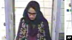 Shamima Begum di bandara Gatwick, Inggris, 2 Februari 2015. (Foto: dok).