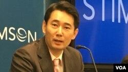 台湾对外关系协会秘书长黄奎博(美国之音钟辰芳拍摄)