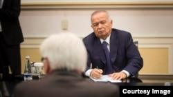 Prezident Islom Karimov bilan muloqot, 30-mart, 2016