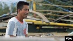 中菲島嶼糾紛讓馬辛洛克鎮的漁民比塔納收入受損