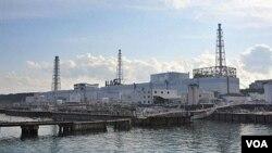 Reaktor Nomor 1 PLTN Fukushima Daiichi di Okuma, Fukushima, yang rusak parah.