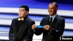 کافو کاپیتان سابق برزیل در کنار مارادونا، نام ایران را درآورد.