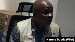 Mr. Geoffrey Ijumba Shugaban Asusun UNICEF Na Maiduguri