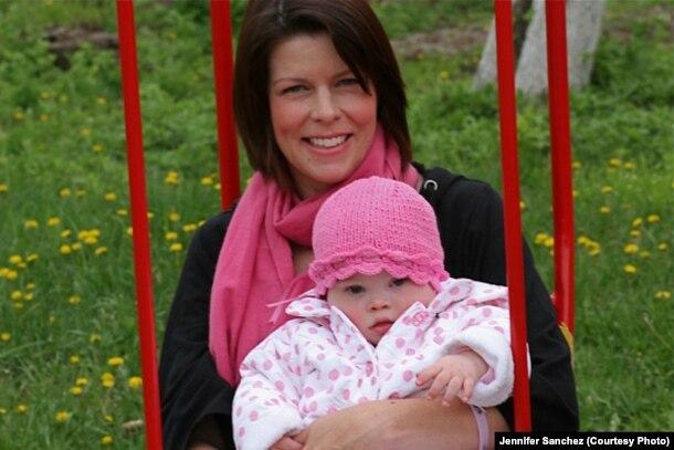 Дженніфер із Софією. Україна, 2010 р.