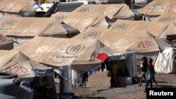 이라크 시리아 난민, 겨울 나기 걱정