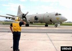 美国海军P3C侦察机(资料照)