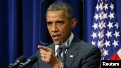 美國總統奧巴馬。(資料圖片)