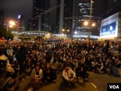 """Movimento """"Ocupem o Centro"""" em Hong Kong"""