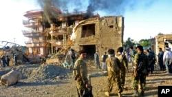 پیرکو اقوامِ متحدہ نے افغانستان کے حوالے سے ایک رپورٹ جاری کی تھی۔ اس رپورٹ کے مطابق رواں برس جنوری سے جون کے درمیان 1659 افغان شہری ہلاک جب کہ 3254 زخمی ہوئے۔ (فائل فوٹو)