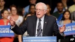 Mgombea wa urais wa Marekani, Bernie Sanders.