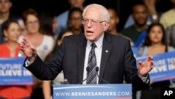 Ông Bernie Sanders giành được thắng lợi bất ngờ trong cuộc bầu cử sơ bộ của đảng Dân chủ ở tiểu bang Michigan hôm thứ ba ngày 8/3/2016.