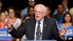 伯尼·桑德斯(Bernie Sanders)现任国会参议员、民主党总统参选人。