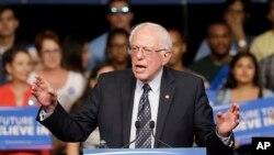 အထက္လႊတ္ေတာ္အမတ္ Bernie Sanders