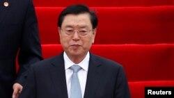 Người đứng đầu Quốc hội Trung Quốc - Trương Đức Giang. (Ảnh tư liệu)