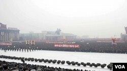 Militer Korea Utara di Pyongyang (Foto: dok)