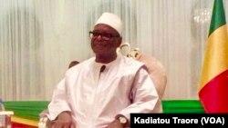 Mali Jamanatigi Ibrahim Boubacar Keita ka Fanga Yere Kofow Laseli