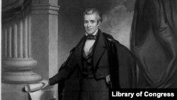 James K. Polk, the 11th U.S. president.