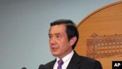 台湾总统马英九在2010年8月