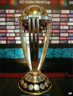 ورلڈ کپ 2011 کی ٹرافی