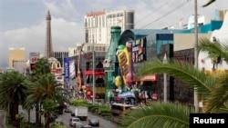 El Strip Boulevard es la calle más conocida de Las Vegas.