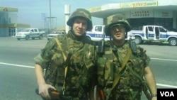 ბათირაშვილი (მარცხნივ) 2008 წლის აგვისტოს ომში