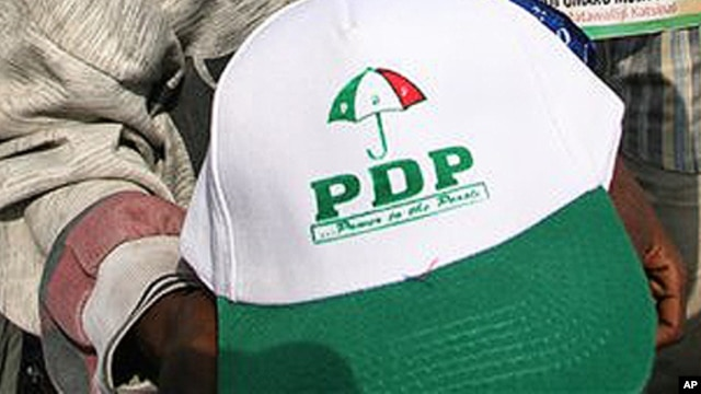 Nigeria's ruling People's Democratic Party  (PDP)