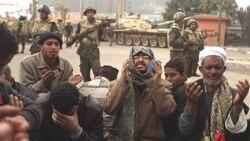 دوگانگی در برخورد مقامات آمريکا با قيام دموکراسی خواهانه مردم مصر