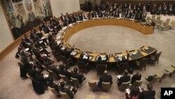 Dewan Keamanan PBB mengadopsi 20 pasal dalam resolusi yang mengecam pelanggaran atas uji nuklir dan misil balistik Korea Utara (22/1).