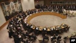 22일 유엔 안보리에서 북한의 지난해 로켓 발사를 규탄하고 기존 제재를 강화하는 결의를 채택했다.
