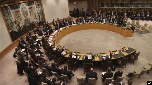 지난달 22일 유엔 안보리에서 북한의 로켓 발사를 규탄하고 기존 제재를 강화하는 결의를 채택했다.