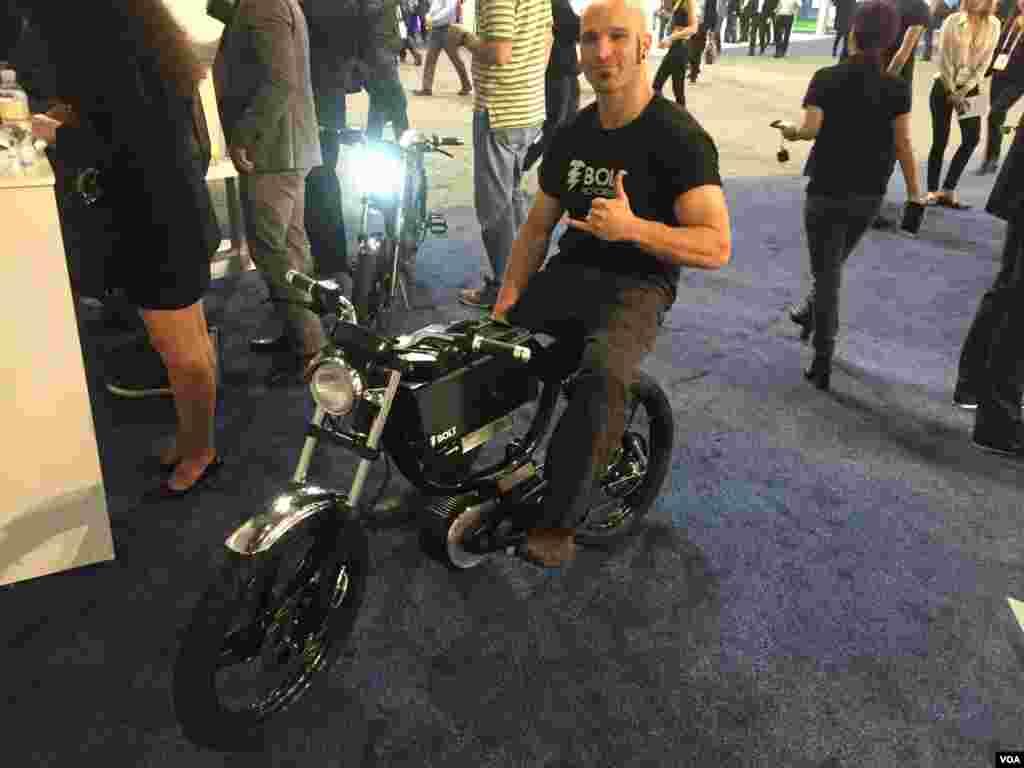 دوچرخه-موتوربرقی بولت یک وسیله حمل و نقل پاک!