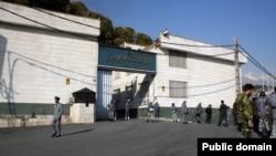 تعدادی از زندانیان سیاسی در بند ۳۵۰ اوین نگهداری می شوند