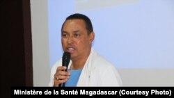 Le Professeur, Mamy Lalatiana Andriamanarivo, chirurgien pédiatrique, et ministre de la Santé à Madagascar, le 19 septembre 2017.