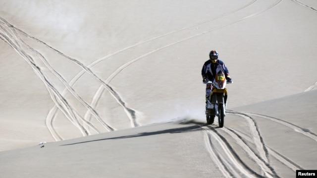 Caselli reemplazó en este Dakar al lesionado Marc Coma en KTM.