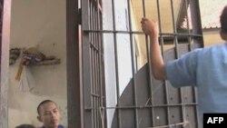 Các can phạm khủng bố trong trại giam Tangerang ở thủ đô Jakarta của Indonesia