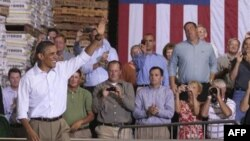 Barak Obama 3 ştata avtobus turnesini başa vurub