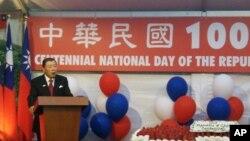 台灣駐美代表袁健生致詞