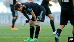 لیونل مسی، کپتان تیم ملی ارژنتاین از ده پنالتی اخیر خود پنج پنالتی را گول نکرده است.