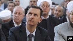 Башар Асад. Дамаск. 19 августа 2012 г.