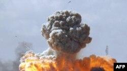 Ракетний обстріл лівійських урядових сил
